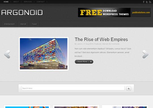 The Best Premium-Like Free Wordpress Themes Of 2010 45