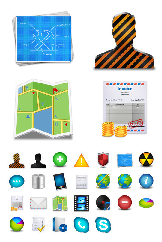 Best Icon Sets Of 2010 You Would Not Want To Miss 24