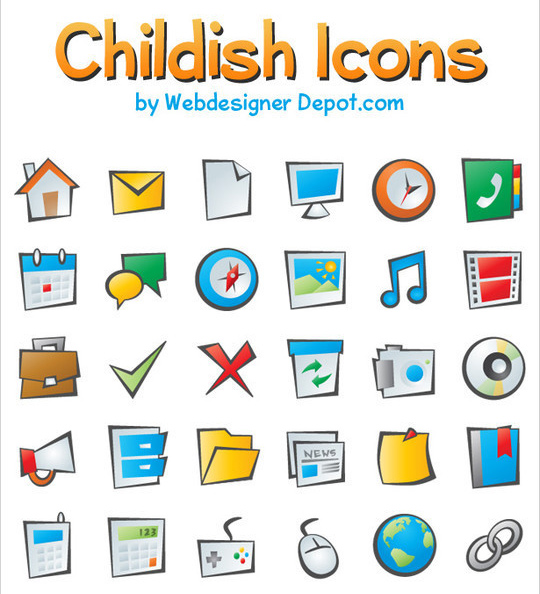 Best Icon Sets Of 2010 You Would Not Want To Miss 37