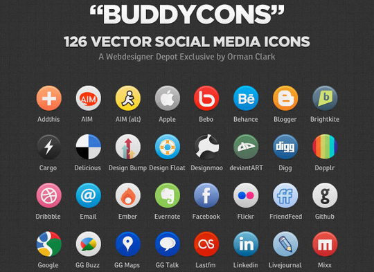 Best Icon Sets Of 2010 You Would Not Want To Miss 39
