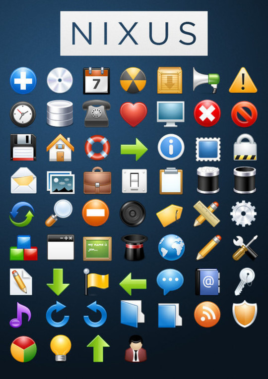 Best Icon Sets Of 2010 You Would Not Want To Miss 70
