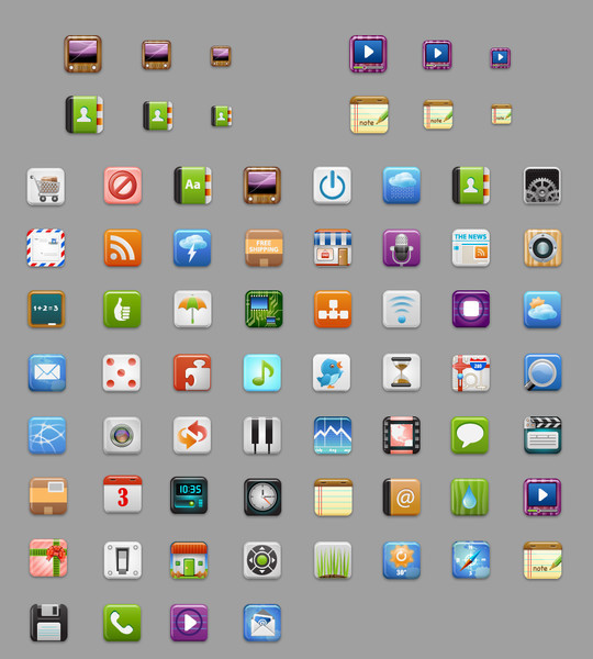 Best Icon Sets Of 2010 You Would Not Want To Miss 43