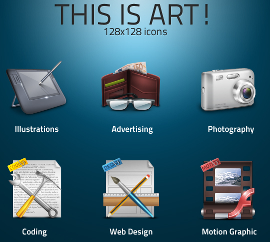 Best Icon Sets Of 2010 You Would Not Want To Miss 1