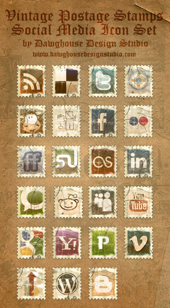 Best Icon Sets Of 2010 You Would Not Want To Miss 55