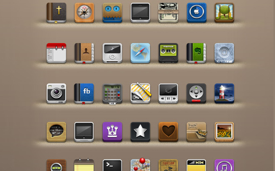 Best Icon Sets Of 2010 You Would Not Want To Miss 59