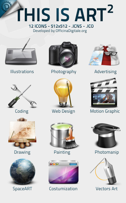 Best Icon Sets Of 2010 You Would Not Want To Miss 61
