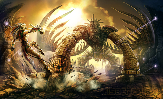 """21 Stunning Video Game Concept Art That Make You Say """"Wow"""" 6"""