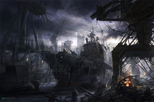 """21 Stunning Video Game Concept Art That Make You Say """"Wow"""" 1"""
