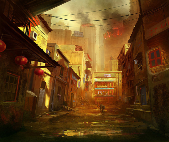 """21 Stunning Video Game Concept Art That Make You Say """"Wow"""" 5"""