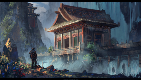 """21 Stunning Video Game Concept Art That Make You Say """"Wow"""" 3"""