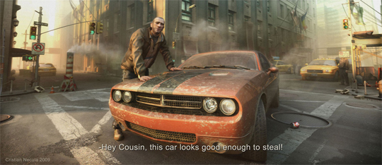 """21 Stunning Video Game Concept Art That Make You Say """"Wow"""" 9"""