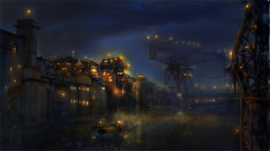 """21 Stunning Video Game Concept Art That Make You Say """"Wow"""" 13"""