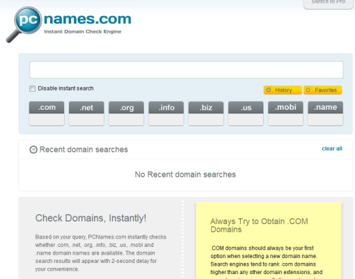 Perfect Tools From PCNames With Full Of Features To Fulfill Your Domain Needs 1