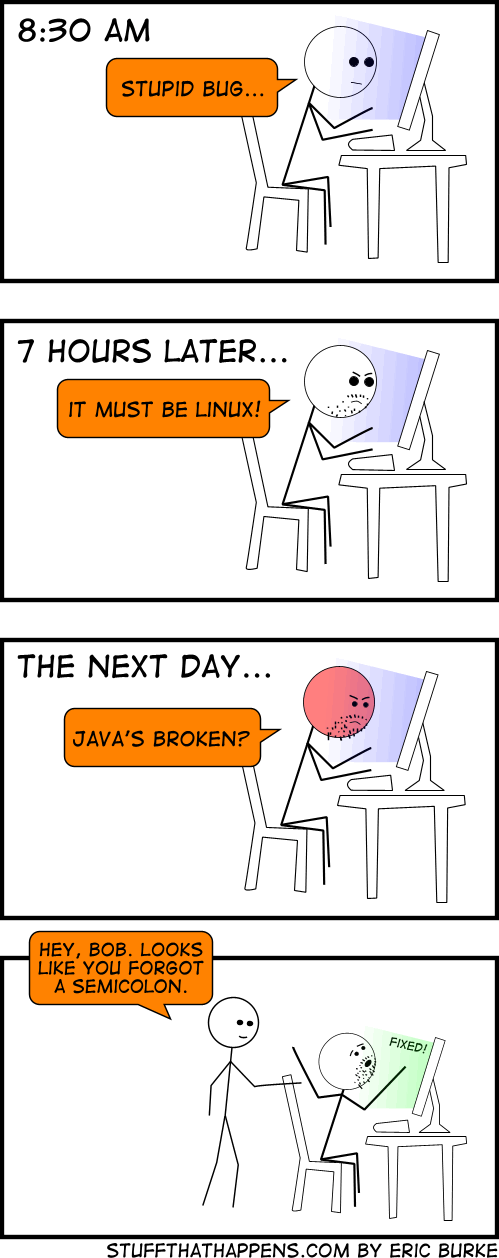What It's Like to Be a Programmer 7