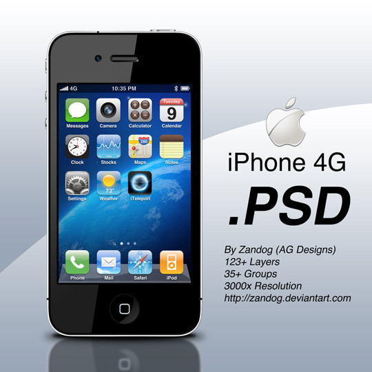 40 High Quality Free PSD Files Released In 2010 26