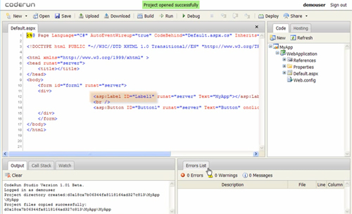 11 Robust Web Based Editors To Code Directly From Your Browser 3