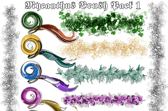 50 Beautiful Sets Of High-Quality Adobe Illustrator Brushes 6