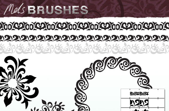 50 Beautiful Sets Of High-Quality Adobe Illustrator Brushes 33