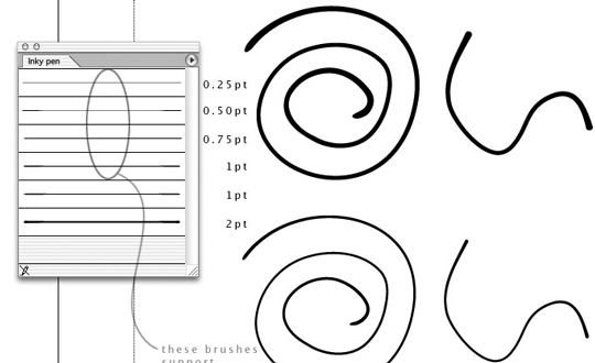 50 Beautiful Sets Of High-Quality Adobe Illustrator Brushes 35
