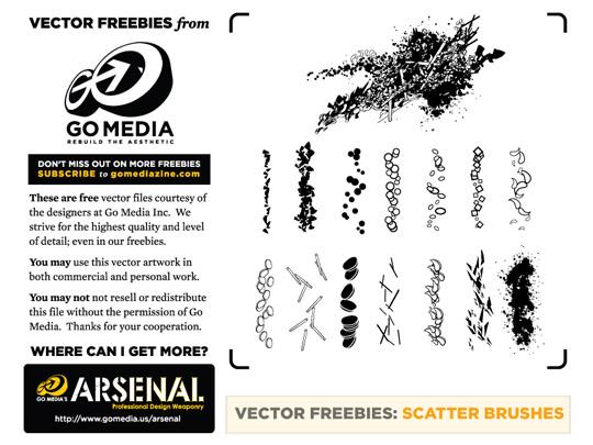 50 Beautiful Sets Of High-Quality Adobe Illustrator Brushes 37