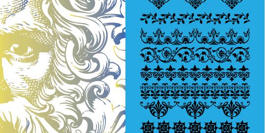 50 Beautiful Sets Of High-Quality Adobe Illustrator Brushes 1