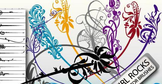 50 Beautiful Sets Of High-Quality Adobe Illustrator Brushes 48