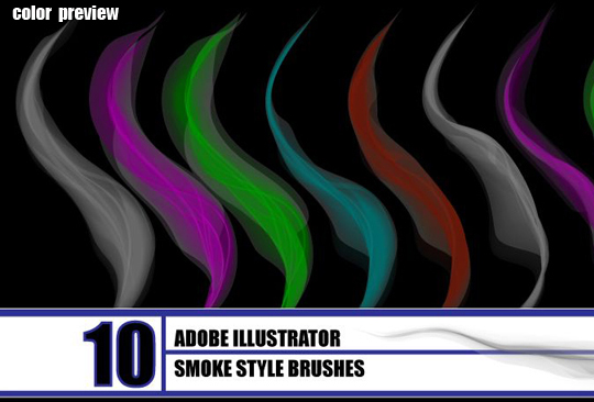 50 Beautiful Sets Of High-Quality Adobe Illustrator Brushes 13