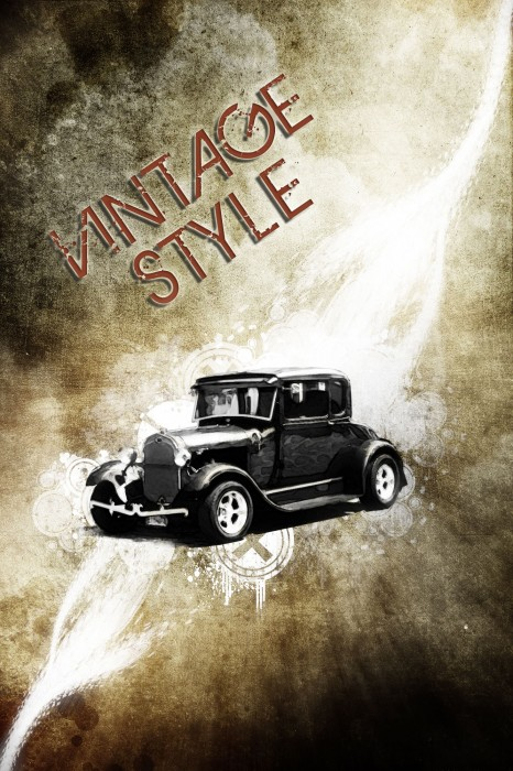 50 Totally Awesome Photoshop Techniques For Retro And Vintage Effects 49