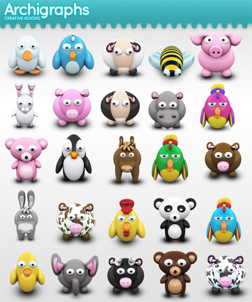 11 Extremely Beautiful (Yet Free) Animal-Themed High Quality Icon Sets 10
