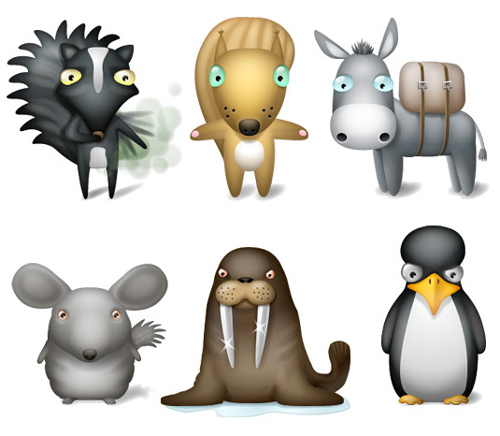 11 Extremely Beautiful (Yet Free) Animal-Themed High Quality Icon Sets 2