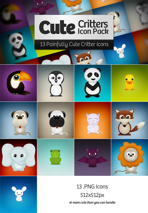 11 Extremely Beautiful (Yet Free) Animal-Themed High Quality Icon Sets 11