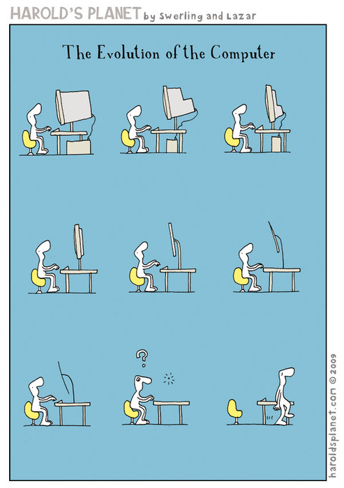 The Evolution Of The Computer (Cartoon) 27