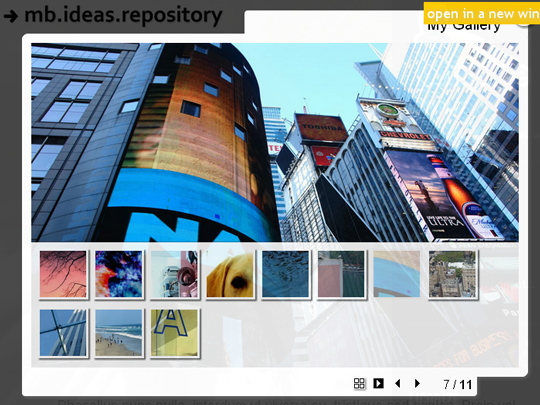 Awesome jQuery Techniques To Create Visually Impressive Photo Galleries 8