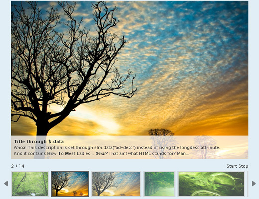 Awesome jQuery Techniques To Create Visually Impressive Photo Galleries 6