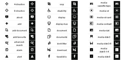 10 Extremely Eye-Catching Minimalist Icon Sets 9