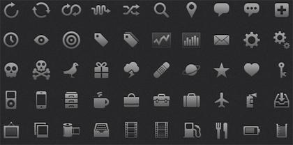 10 Extremely Eye-Catching Minimalist Icon Sets 8