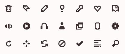 10 Extremely Eye-Catching Minimalist Icon Sets 3