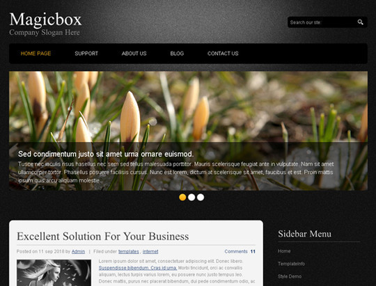 45 Free And High Quality (X)HTML/CSS Website Templates 21