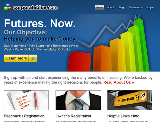 45 Free And High Quality (X)HTML/CSS Website Templates 23