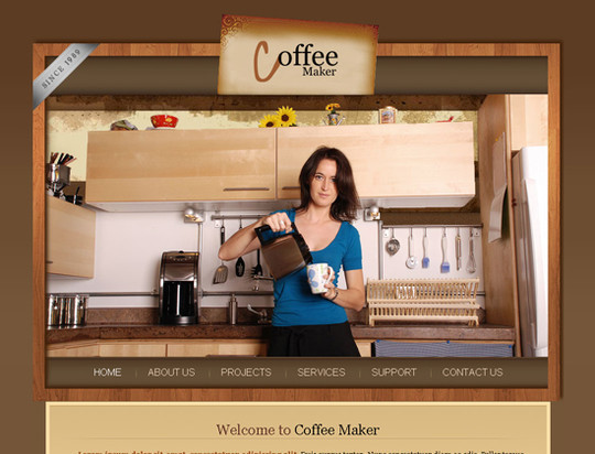 45 Free And High Quality (X)HTML/CSS Website Templates 4