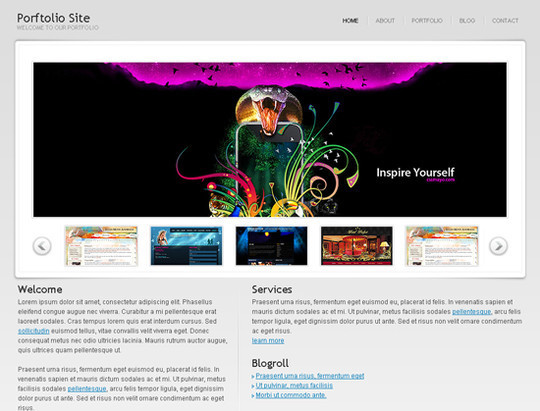 45 Free And High Quality (X)HTML/CSS Website Templates 32