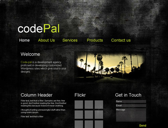 45 Free And High Quality (X)HTML/CSS Website Templates 10
