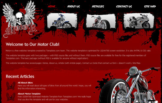 45 Free And High Quality (X)HTML/CSS Website Templates 37
