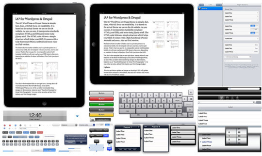 50 Free Web UI, Mobile UI, Wireframe Kits And Source Files For Designers 43