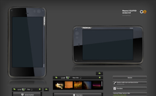 50 Free Web UI, Mobile UI, Wireframe Kits And Source Files For Designers 48