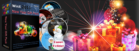 WinX 2011 New Year Gift Pack (7 Software) Giveaway 2