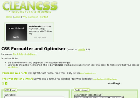 40 Excellent (Yet Free) CSS Tools And Generators For Developers 22