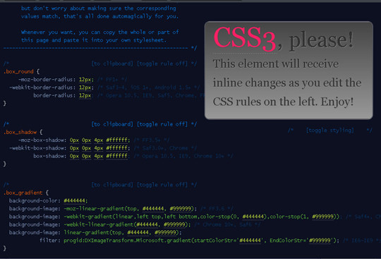 40 Excellent (Yet Free) CSS Tools And Generators For Developers 23