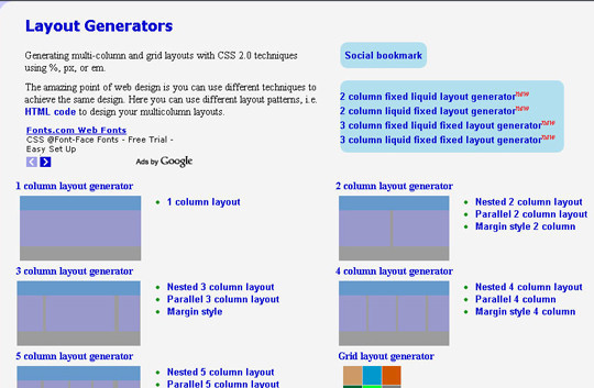 40 Excellent (Yet Free) CSS Tools And Generators For Developers 28
