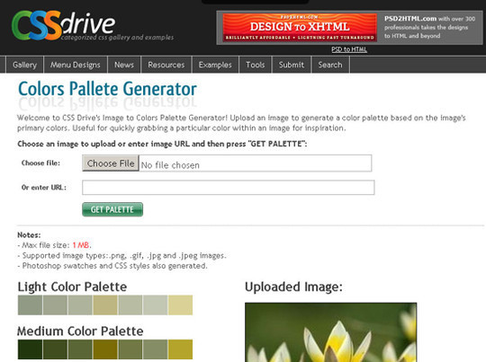 40 Excellent (Yet Free) CSS Tools And Generators For Developers 30
